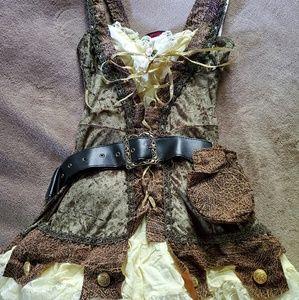 Lady Robin Hood costume